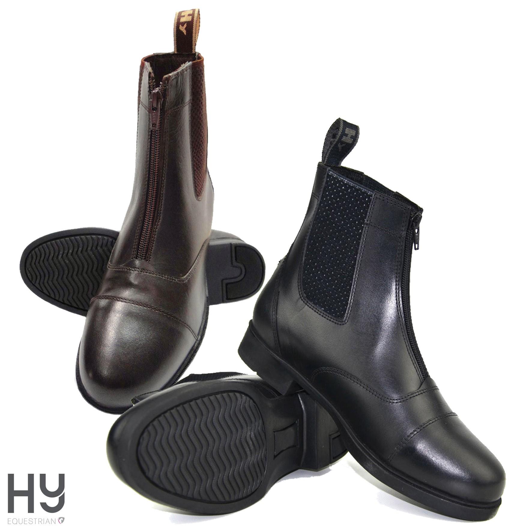 HyLAND Canterbury Zip Jodhpur Boots - Child