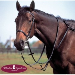 Windsor Equestrian Leather Breastplate