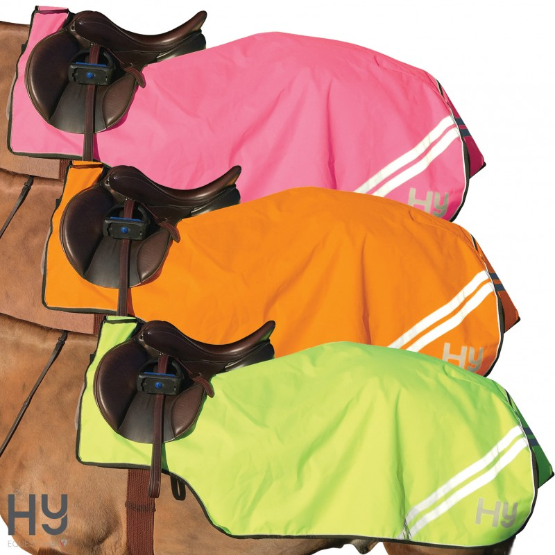Reflector Mesh Exercise Sheet by Hy Equestrian