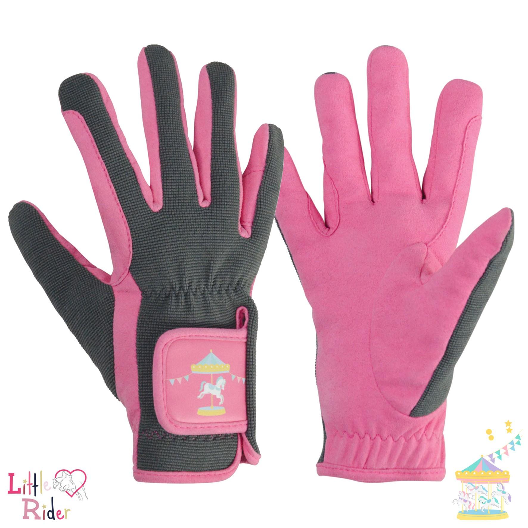 Merry Go Round Children's Riding Gloves by Little Rider