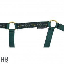 Hy Equestrian Elegant Stirrup and Bit Head Collar and Lead Rope