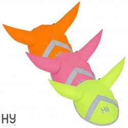 Reflector Ear Bonnet by Hy Equestrian