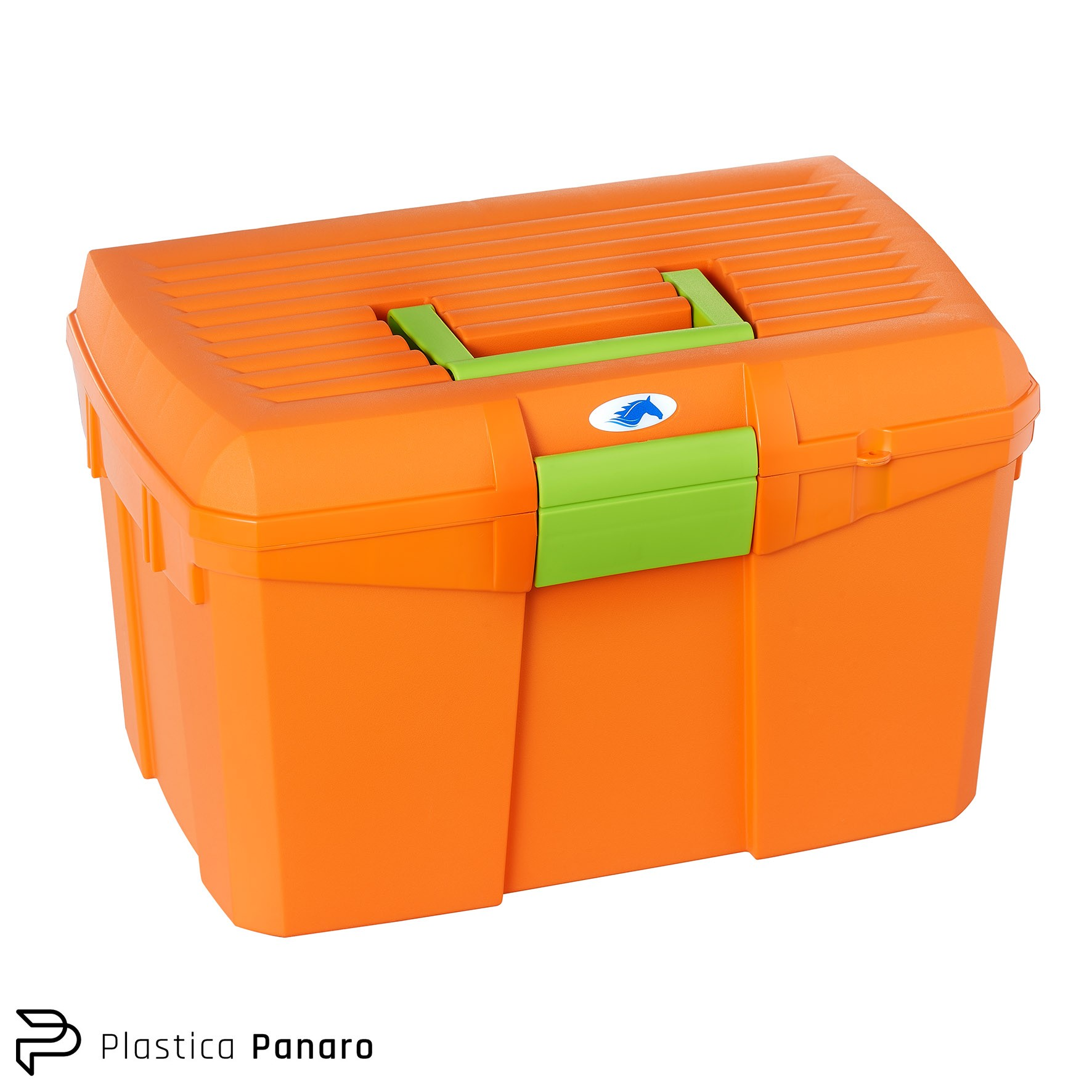 Pumpkin Orange Grooming/Tack Box – Medium