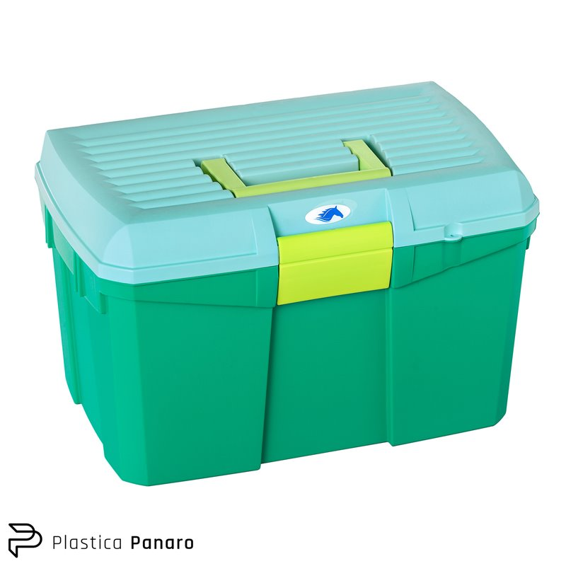 Aquamarine Grooming/Tack Box – Medium