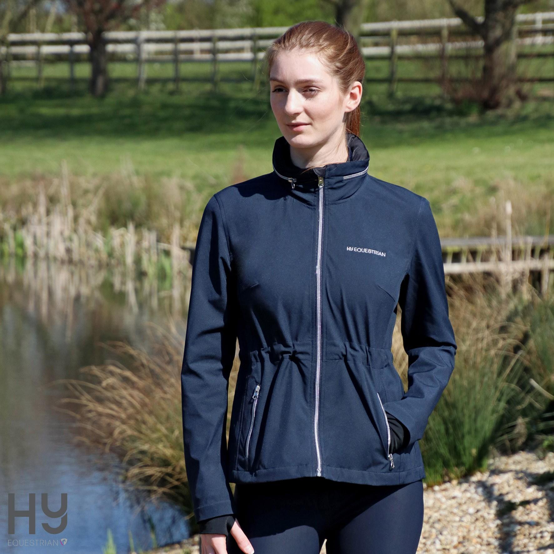 Hy Equestrian Synergy Rain Jacket