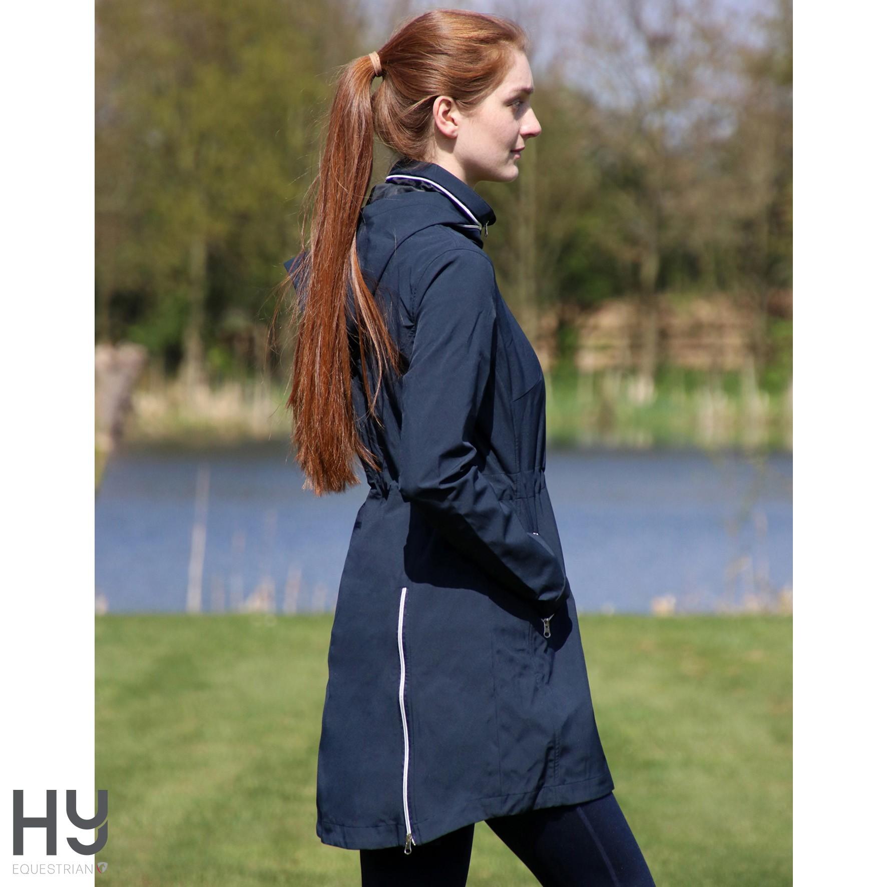 Synergy Long Rain Jacket by Hy Equestrian