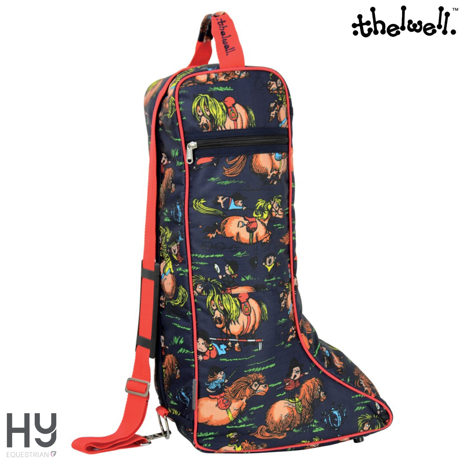 Hy Equestrian Thelwell Collection Boot Bag
