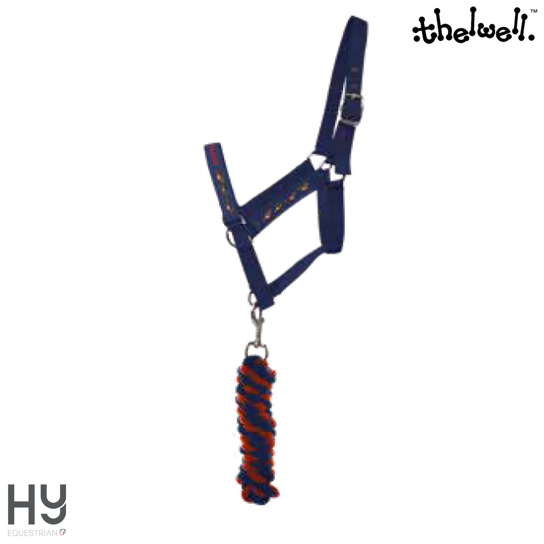 Hy Equestrian Thelwell Collection Head Collar and Lead Rope