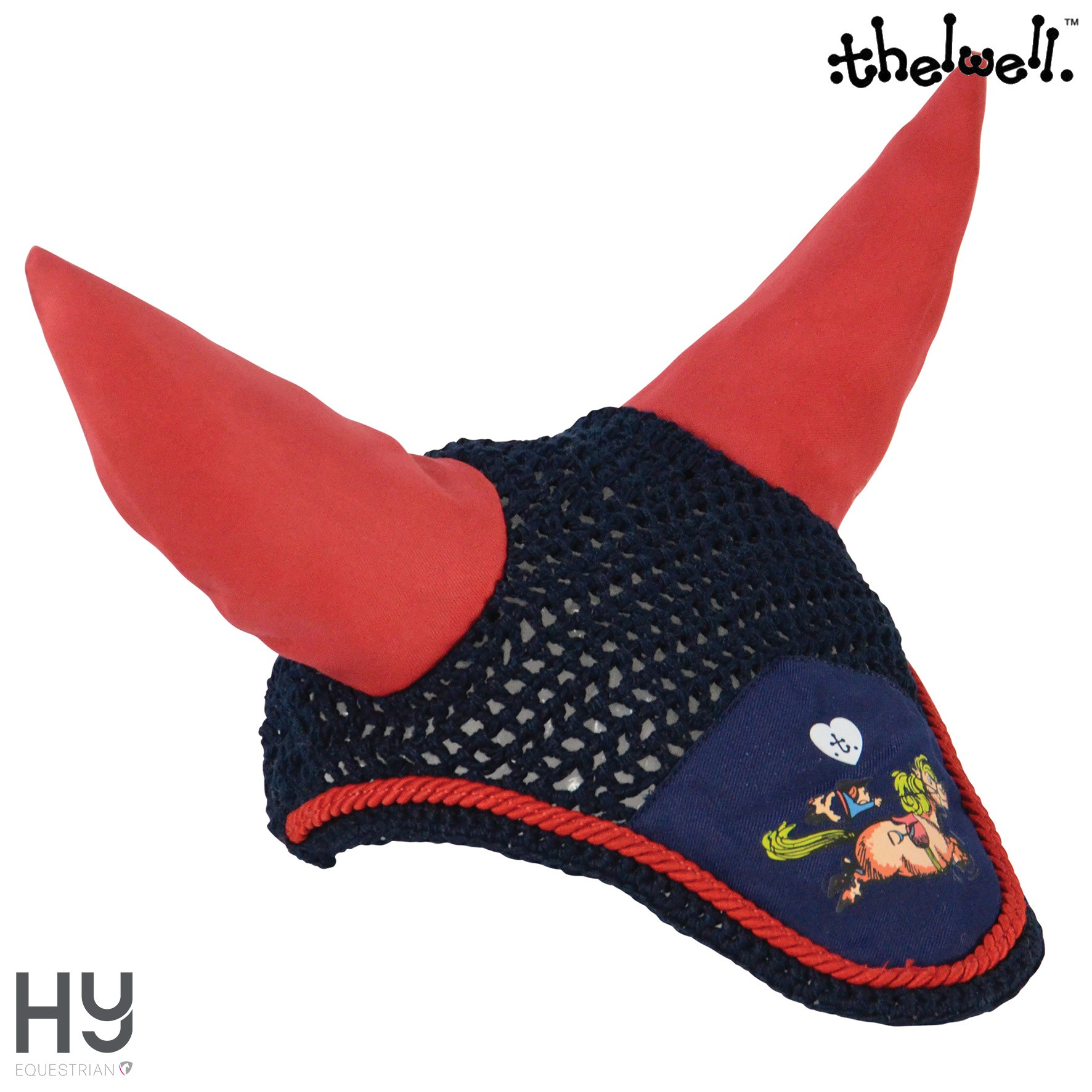 Hy Equestrian Thelwell Collection Fly Veil