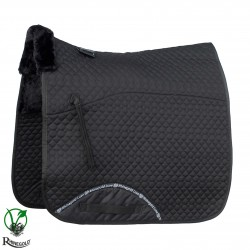 Rhinegold Luxe Fur Dressage Saddle Cloth