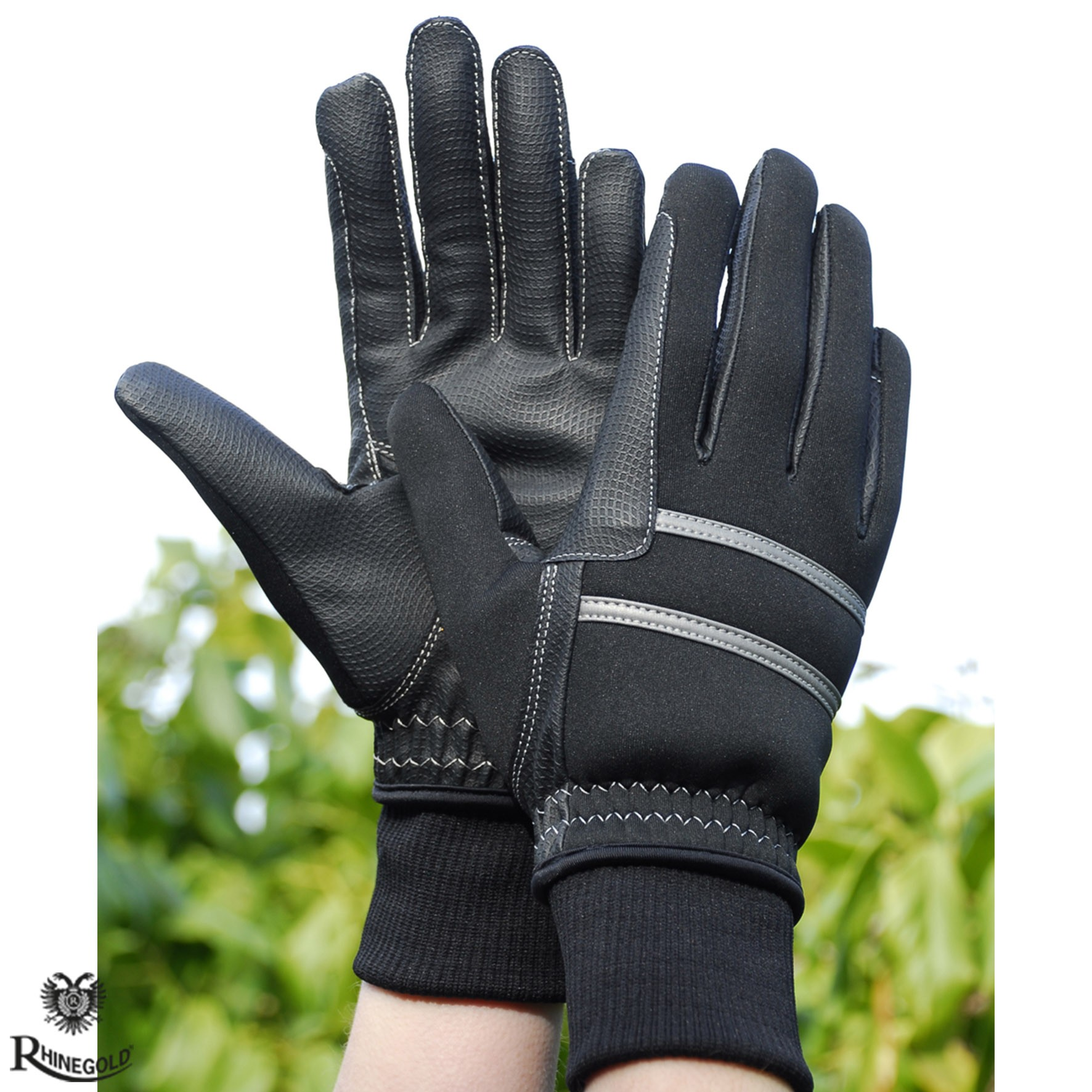Winter Riding Gloves by Rhinegold