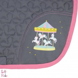 Merry Go Round Saddle Pad by Little Rider