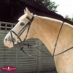 Windsor Equestrian Leather Running Martingale