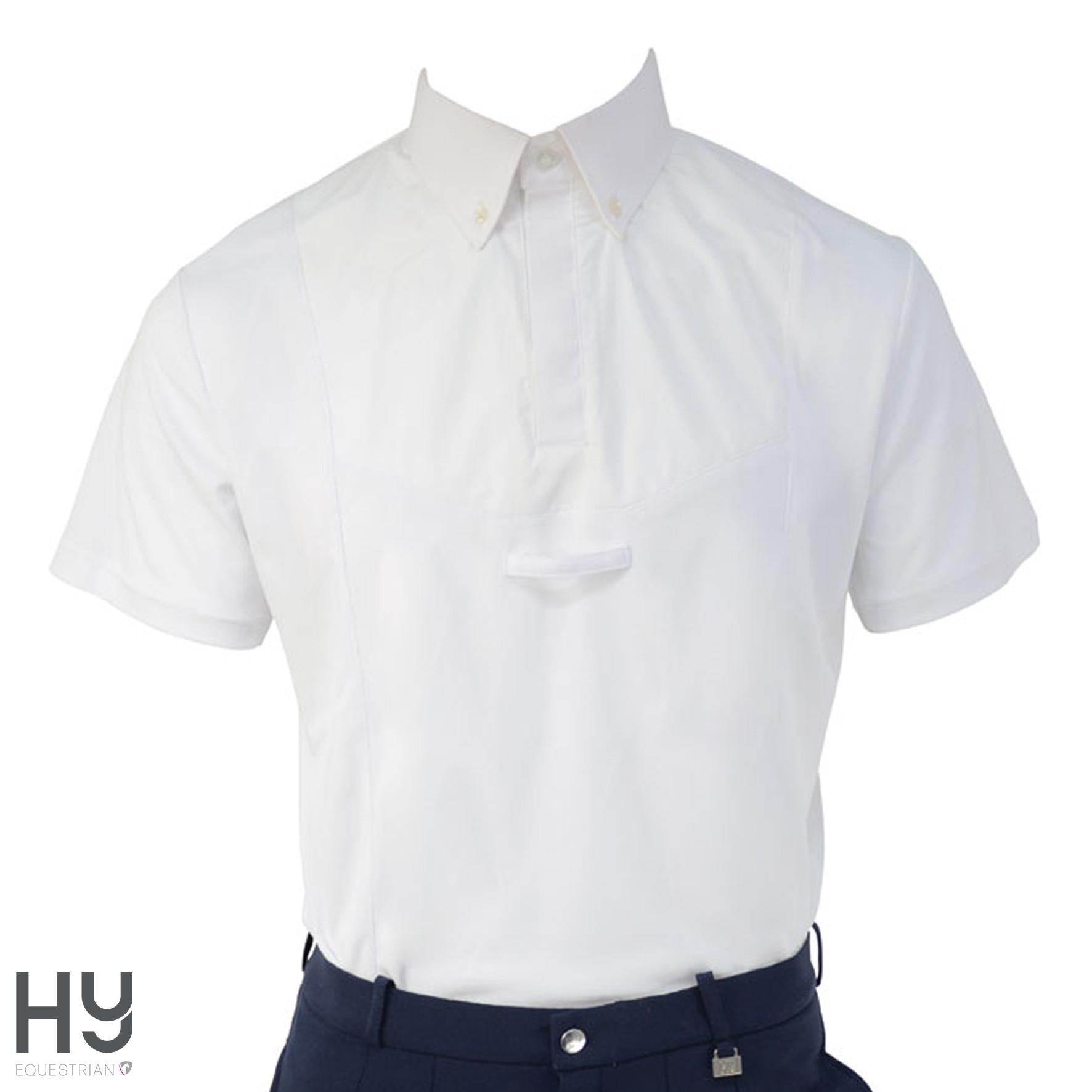 HyFASHION Men's Hadleigh Short Sleeved Tie Shirt