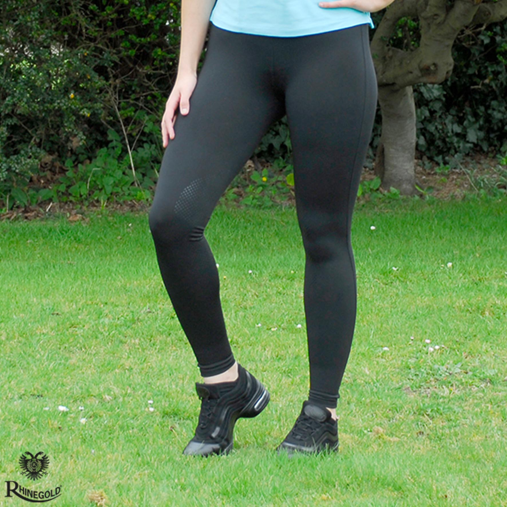 Rhinegold  Silicone Knee Performance Tights