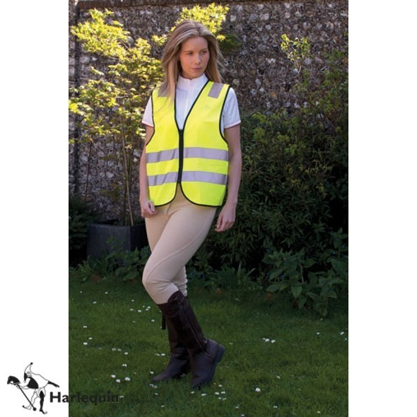 Harlequin Childs Hi-Viz Zipped Tabard