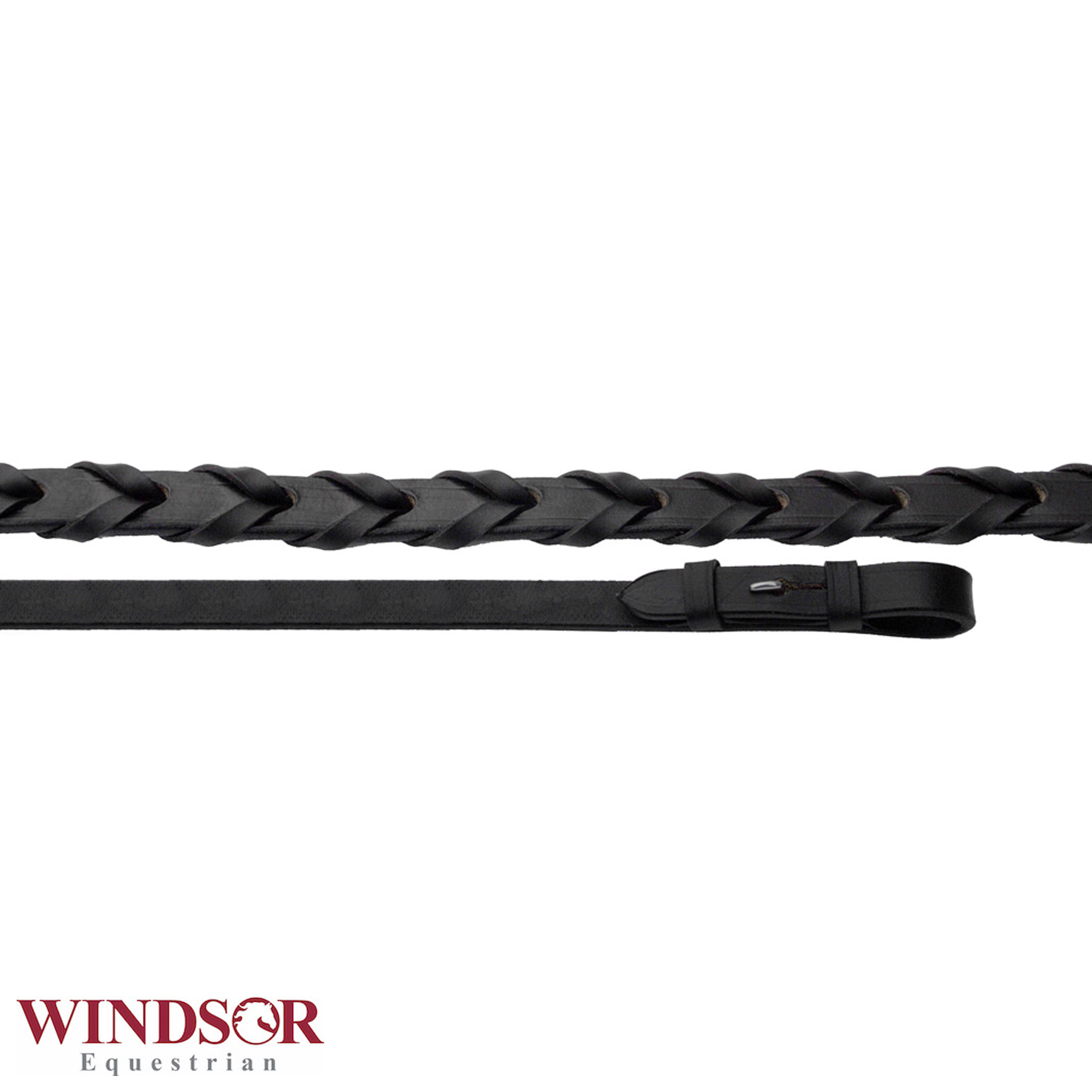 Windsor Equestrian Leather Laced Reins