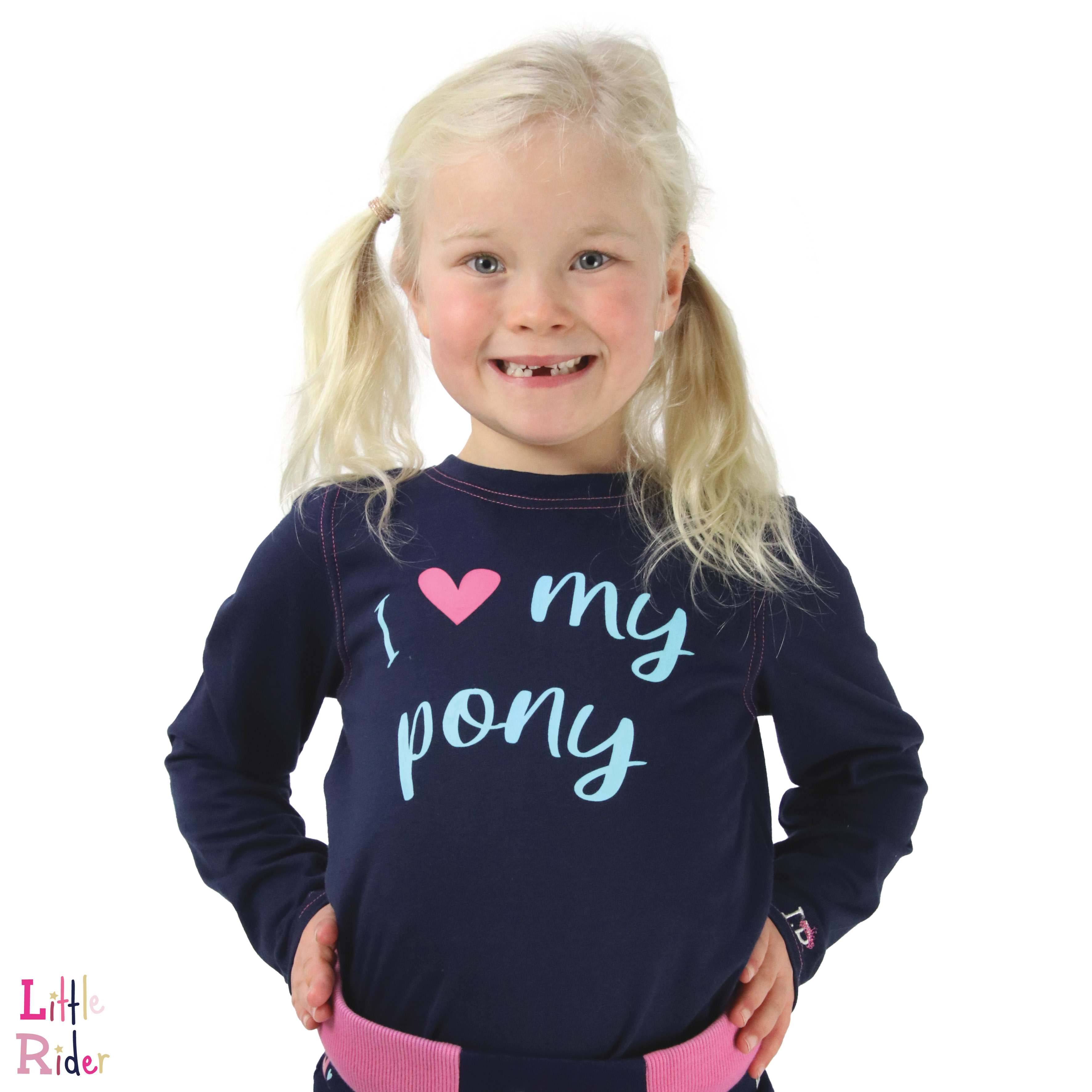 I Love My Pony Collection Long Sleeve T-Shirt