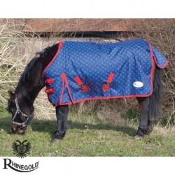 "Rhinegold Foal/Tiny Pony Dottie Torrent Lightweight Outdoor Rug – 3\'6\"" - 4\'0\"""