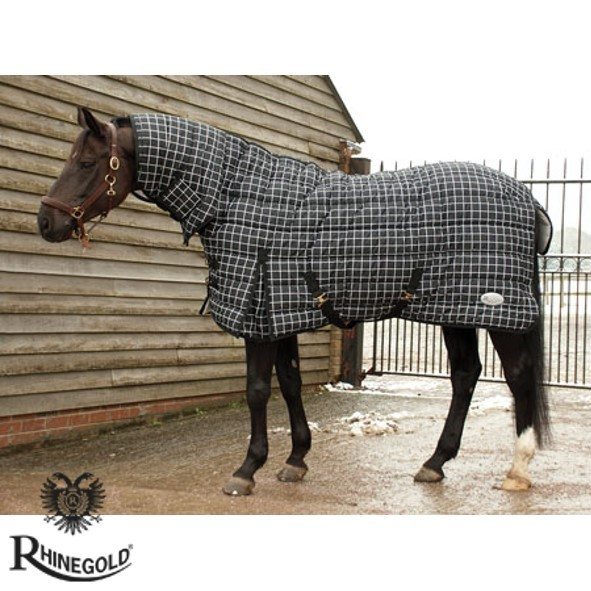 "Rhinegold Full Neck 'Mega' Heavyweight Stable Quilt – 5'6"" - 7'0"""