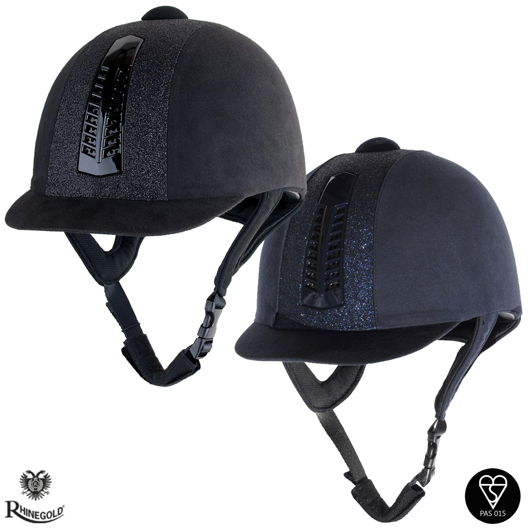 Rhinegold Glitter 'Pro' Riding Hat