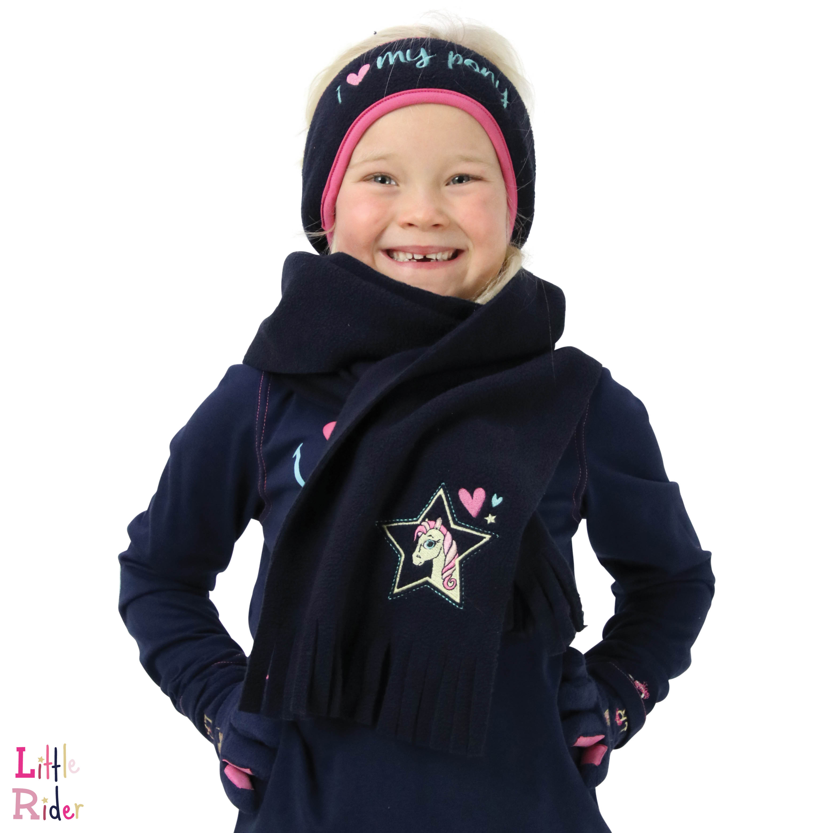 I Love My Pony Collection Head Band & Scarf Set