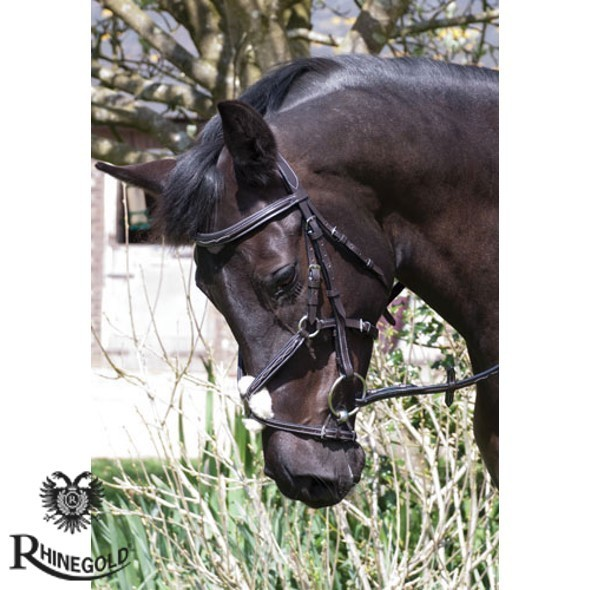 Rhinegold 'Elegance' Mexican Style Noseband
