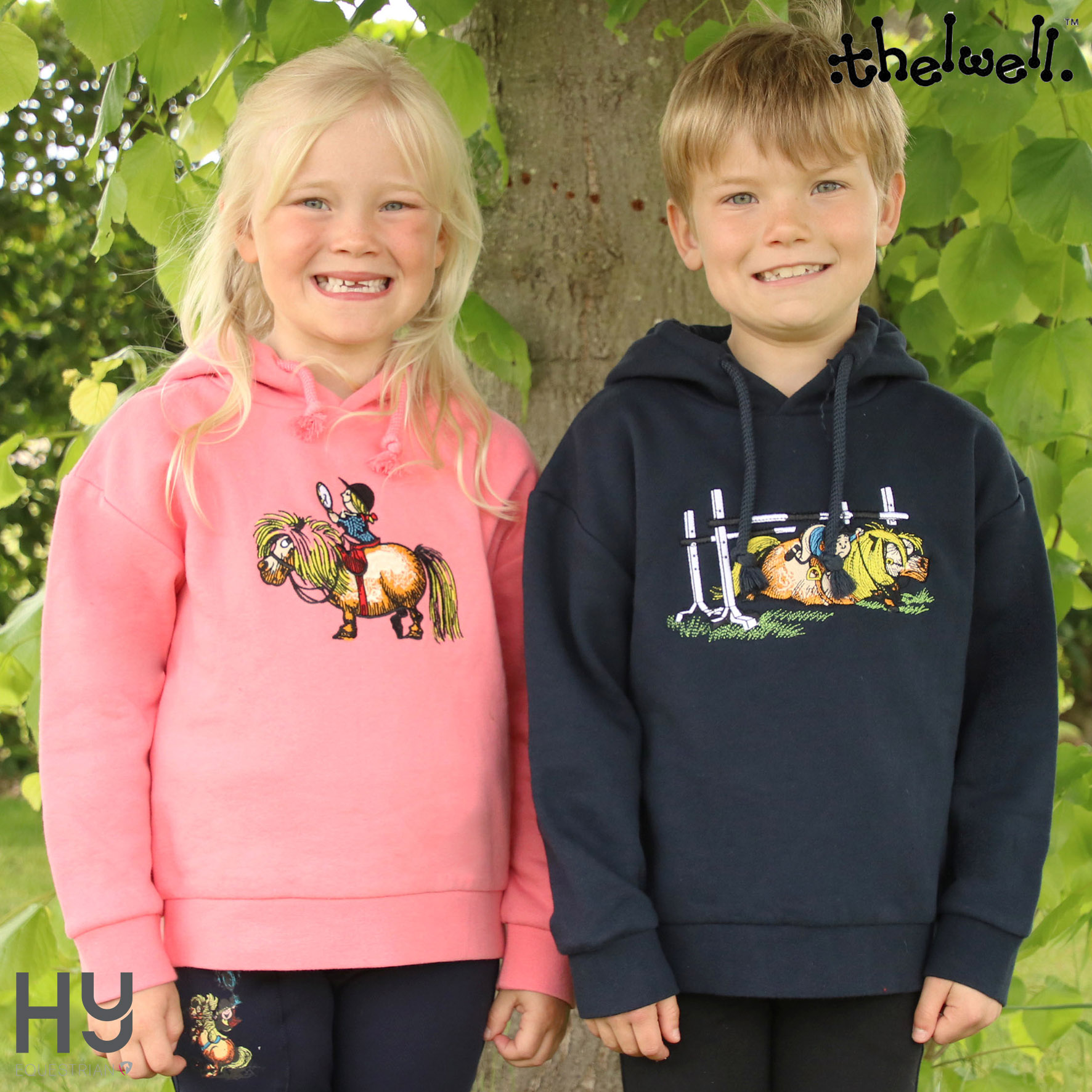Thelwell Collection Children's Badge Hoodie