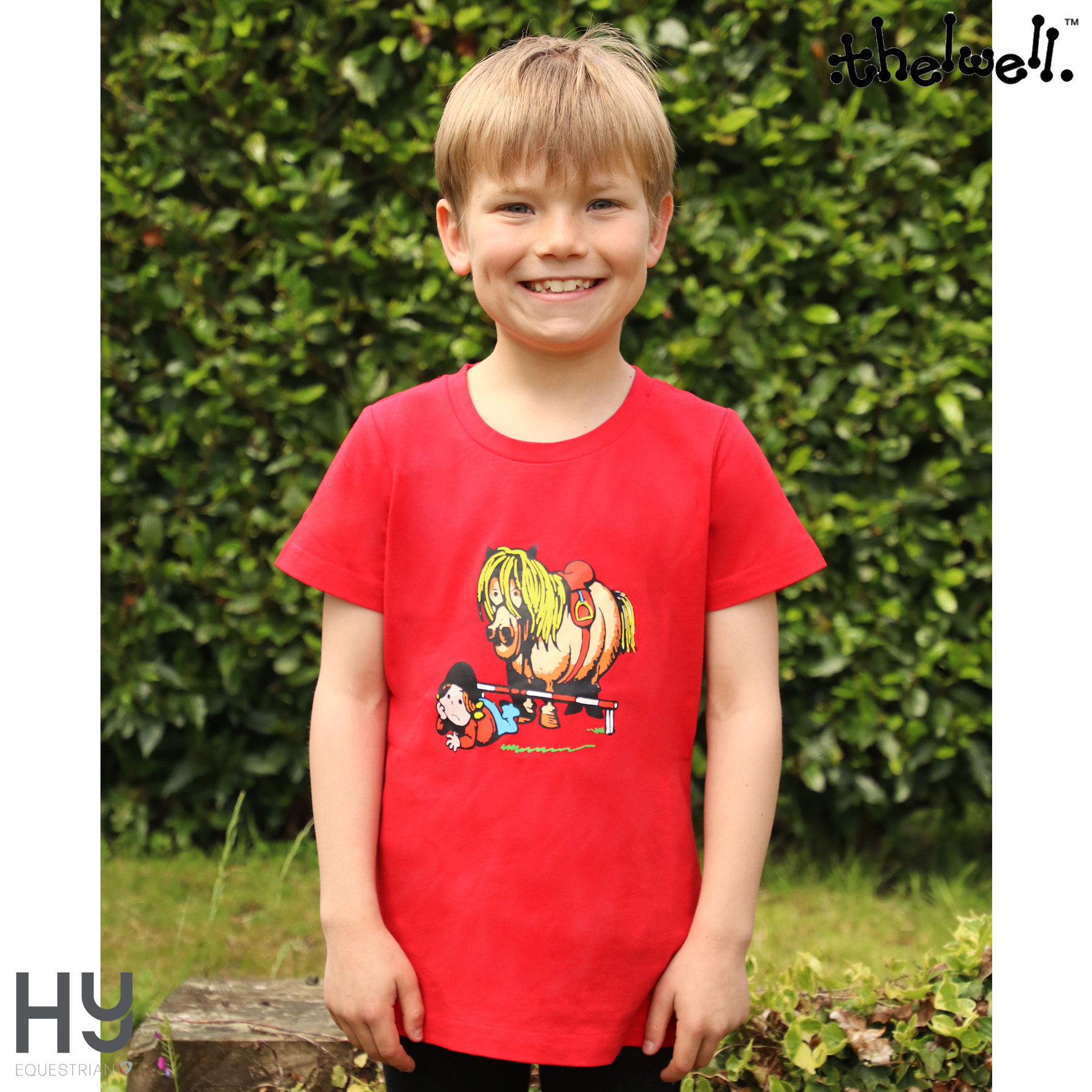 Thelwell Collection Children's Badge T-Shirt