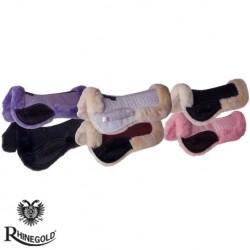 Rhinegold Real Sheepskin Saddle Pad